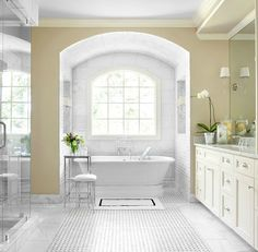 Bathroom Design With Alcove Tubs