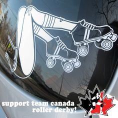 cool roller derby decal!!!