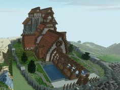 I think one of my favorite things to build in Minecraft would be medieval and Viking style buildings. This person did a pretty awesome thing here.