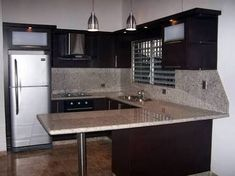 Resultado de imagen para cocinas empotradas para apartamentos #cocinasmodernasabiertas