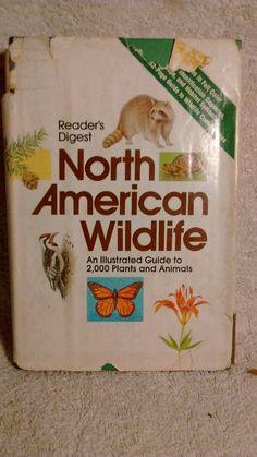 Reader's Digest North American Wildlife , c 1982 by Artisticflea on Etsy