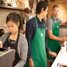 Starbucks to finally let employees show their tattoos hr stuff starbucks uniforms just got the hipster treatment fandeluxe Image collections