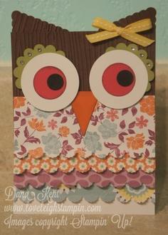 Sweet Owl Card