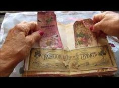 Vintage Style Tassel Journal - YouTube