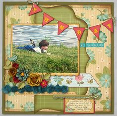 First Publication with My Little Shoebox and Cottage Cutz - Created by Lori Williams of Pinkcloud Scrappers