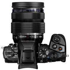 Olympus OM-D E-M1 Mirrorless Micro Four Thirds Digital Camera with M. Zuiko Digital ED 12-40mm f/2.8 PRO Lens
