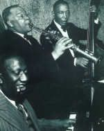 with Sidney Bechet & Pops Foster