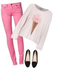 """""""ICE CREAM"""" by gryffindor-gurl ❤ liked on Polyvore"""