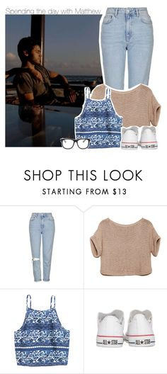 """""""Spending the day with Matthew"""" by xcuteniallx ❤ liked on Polyvore featuring Topshop, Converse and STELLA McCARTNEY"""