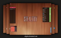 Stealthy Basic Suite (Rainmeter) by Ekojain.deviantart.com on @deviantART