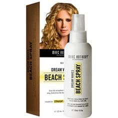 Dream Waves Beach Spray by Marc Anthony.  Got this stuff in my June Ipsy bag and love it!  Gave my fine hair lots of VOLUME. ks