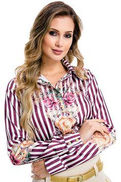 Camisa Floral Vintage Via Tolentino