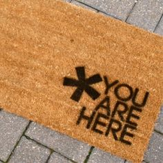 Add some personality to your front porch with this welcome mat DIY!