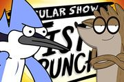 Regular Show Fist Punch Regular Show, Cartoon Games, One Punch, First Night, Games To Play, Shit Happens, One Punch Man