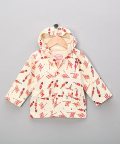 Little Brits   Powell Craft Soldier Raincoat - Infant, Toddler & Girls