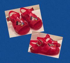#etsy #Sandals #JellySandal #JellyShoes #MickeyMouse #DisneyPals #Kids #Children #VintageDisney #VintageSandals #VintageMickey #DonaldDuck #80s Jelly Shoes, Jelly Sandals, Mickey Mouse Donald Duck, Cheap Designer Shoes, Vintage Mickey, Child And Child, Open Toe Sandals, Vintage Children, Kids Wear