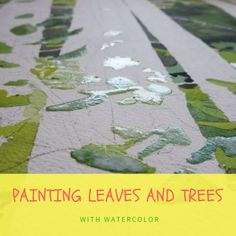 Painting watercolor trees and leaves can seem challenging because of the amount of details you need to render. Here is how you can do it step by step