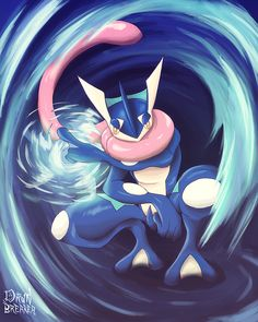 pokemon greninja - Google Search