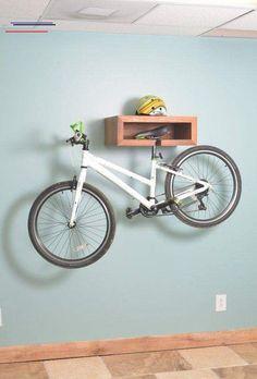 inside bike storage - #bikestorageapartment Wood Bike Rack, Diy Bike Rack, Bike Hanger, Bicycle Rack, Indoor Bike Storage, Bicycle Storage, Indoor Bike Rack, Rack Velo, Ideas Cabaña