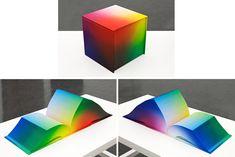 Tauba Auerbach - RGB Colorspace Atlas