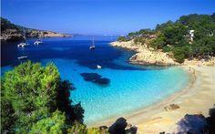 Cala Saladeta, prettiest cove in Ibiza