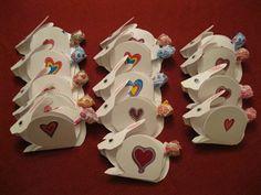 Bunny Valentines with Dum Dum Lollipop Tail DIY