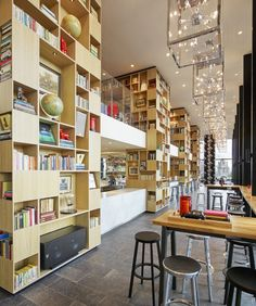 The citizenM's Tower of London Hotel was designed specifically for the modern traveler who's quick, tech-savvy, and on the go.