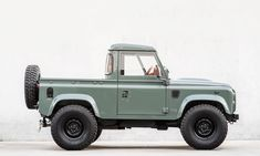 We've seen quite a few impressive shop trucks over the years. After all, the trusty hauler any great shop uses for deliveries and parts runs says a lot about Land Rover Defender Pickup, Land Rover Pick Up, Defender 90, Lifted Ford Trucks, Pickup Trucks, Shop Truck, Camper Van Conversion Diy, Automobile, Ford Bronco