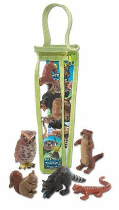 Wild Republic Nature Tubes - River Otter by Wild Republic. $7.37. highly detailed animals. 8-16 pieces per set. reusable vinyl zippered bag. From the Manufacturer                Explore the wonders of River Otter with our River Otter Adventure Tube line. Each comes with an assortment of durable, high quality and lightweight replicas of Faunas in the life of River Otter. All in a reusable zippered bag for easy clean up and storage after playtime. The little ones will have ho...