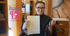 Το όμορφο χαμόγελο της Προσφοράς  Κρίκος της «αλυσίδας προσφοράς» και η Ευαγγελία Παπαγιανοπούλου, η οποία τη Δευτέρα 31 Ιουλίου 2017, προσήλθε στην Κλινική Μαλλιών Bergmann Kord, στο Χαλάνδρι, και δώρισε 20 εκατοστά από τα μαλλιά της ! Hair Clinic, Red Bull, Energy Drinks