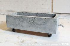 betonnen bak