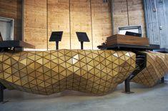Modelado en 3D y origami para crear muebles sorprendentes