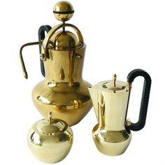 Italian Art Deco Coffee Service