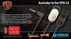 La Púa San Miguel: Auricular In Ear YAMAHA EPH-22