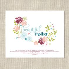 Mother's Day Free Printable | www.ashleeproffittdesign.blogspot.com