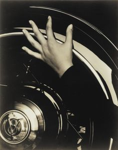 Alfred Stieglitz | Hand and Ford car, 1933 via Sotheby's