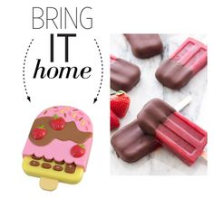 """""""Bring It Home: Ice Cream Calculator"""" by polyvore-editorial ❤ liked on Polyvore featuring interior, interiors, interior design, home, home decor, interior decorating and bringithome"""