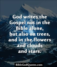 The gospel of Christ is written in all creation. God designed it that way. Bible Qoutes, Bible Verses, Prayer Quotes, Bible Art, Faith Moves Mountains, Marriage Prayer, Meditation, Law Of Attraction Affirmations, Prayer Warrior