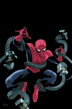 Amazing Spider-Man by Paolo Rivera