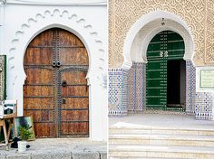 Come and knock on my door... beautiful doors in the Tetouan Medina, Morocco.