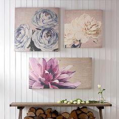 Graham & Brown Pink Petals Canvas