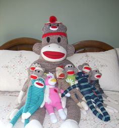 My little sock monkeys!