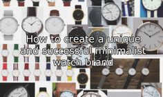 We all have friends who wear watches made by brands like Daniel Wellington and The Horse. We also all know that these watches are, essentially,identical. Yet somehow these simple quartz dress watch look-a-likes seem to net their savvy owners massive piles of dosh. Some of us may have even...