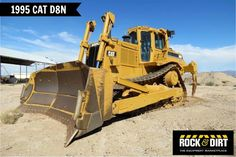 Our featured Dozer is a 1995 Caterpillar D8N, Cab, A/C, U-Blade, MS Ripper, 1,400 Hrs on Meter. We have a great selection of #Caterpillar #dozers that are ready to go to work for you! View them all at http://www.rockanddirt.com/equipment-for-sale/CATERPILLAR/ALL-dozers #HeavyEquipment #ConstructionEquipment #RockandDirt