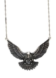 eagle necklace set