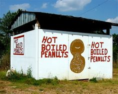 hot boiled peanuts , heck yeah. southern, summertime, windows down, drive thru the mountains kinda day :)