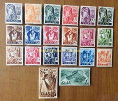 EBS Germany 1947 French Zone Saar Saarland Michel 206-225 MNH** in Stamps, Europe, Germany & Colonies   eBay