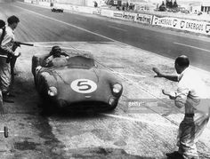 1959 Le Mans / Carrol Shelby/Roy Salvadori win in the Aston Martin DBR1.