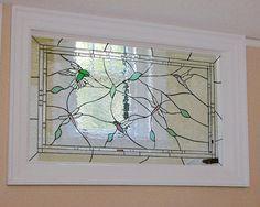 Birds Rice design.  #stainedglass #window #room #divider #artsy #bird #nature #creative #stylish #hummingbird #privacy #custom #decor #homedecor