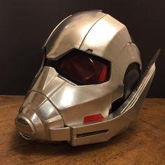3D Printable Model: New Ant-Man Helmet V2.3 from Captain America Civil War   File Formats: STL OBJ – Do3D.com